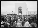 Opening of the Wellington Provincial Centennial Memorial, Petone