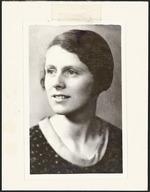 Locke, Elsie Violet, 1912-2001 :Photograph of writer Elsie Locke