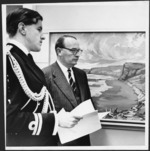 Governor General Lord Cobham at the Kelliher art exhibition