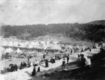 Camp of the Second Contingent for the South African War, Newtown Park, Wellington