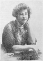 Photograph of Ada Wells from Woman Today magazine