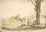 [Barraud, Charles Decimus] 1822-1897 :Judge Chapman's house, Karori. [ca 1850]