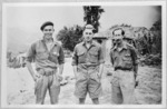 John Mulgan and other World War II soldiers from New Zealand, Greece
