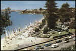 Mission Bay, Auckland, N.Z.  Colourchrome series W.T. 135, printed by Whitcombe and Tombs Ltd for the Felicity Card Co. Ltd