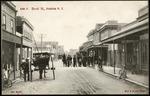 Postcard. 4786 P. Revel St., Hokitika, N.Z. New series. Muir & Moodie series, issued by Muir & Moodie, Dunedin N.Z. from their copyright series of views. Made in Germany [1904-1914]