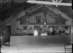 Interior of the YMCA canteen at the New Zealand Infantry and General Base Depot, Etaples