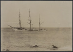 The wreck of the barque Okta, Bluff