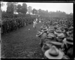 A running race at the New Zealand Division sports day during World War I