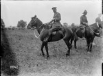 The Brigade Commander wins second prize at the New Zealand Infantry Brigade horse show, France, during World War I