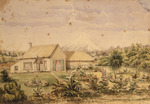 Arden, Hamar Humphrey  1815-1895 :[Arden's house at Bell Block, New Plymouth, ca 1860]