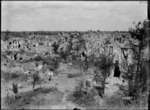 A view of Bapaume, from the Citadel, after capture by New Zealand troops, World War I