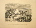 Chevalier, Nicholas, 1828-1902 :The war in New Zealand - storming the rifle pits at Te Ranga, June 21 1864. [London, 1865]