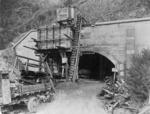Wainuiomata Tunnel under construction, Lower Hutt, Wellington