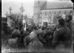 A requiem mass in memory of fallen comrades, Selle during World War I