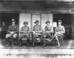Officers attached to the New Zealand Expeditionary Force, Samoa