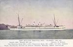 """[Postcard]. New Zealand hospital ship """"Maheno"""", 5282 tons.  [ca 1915]."""