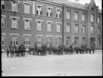 New Zealand Divisional Headquarters horse transport, Leverkusen, Germany