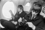 Beatles Ringo Starr and George Harrison