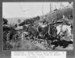 Broken down mail cart, Mount Florence, Southland Region