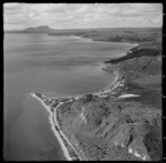 Aerial view of Motutere Point and Lake Taupo looking north east