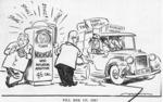 """Minhinnick, Gordon (Sir), 1902-1992 :""""Fill her up, Sir?"""" N.Z. Herald, 28 June, 1958"""