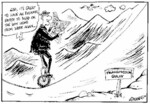 Greenall, Frank, 1948- :God, it's great to have an evening paper to read on the way home from work again... Weekday News, 21 January, 2003.
