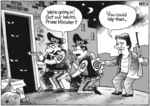 """""""We're going in! Got our backs, Prime Minister?"""" """"You could say that..."""" 3 September, 2008"""