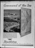 Inside page of 'Flight' magazine 8 Feb 1951