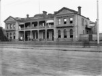 Royal Hotel, Christchurch, during its use as an emergency hospital