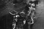 Mt Eden 2 boys & tricycle1970.tif