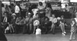 Railway Station Crowd on bench 1972.tif