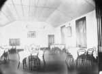 Winkelmann, Henry  1860-1931 :Dining room in the Ranfurly Veterans' Home at Mount Roskill, Auckland