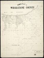 Index map of Whakatane County