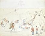Heaphy, Charles  1820-1881 :Ye diggings.  [1852]