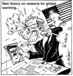Nisbet, Al, 1958- :New theory on reasons for global warming... Christchurch Press, 29 January 2003.