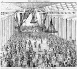Artist unknown :Fancy dress ball at the Choral Hall. The Auckland Graphic. [1860s].