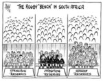 Hawkey, Allan Charles 1941- :The Rugby 'Bench' in South Africa. Waikato Times, 12 August 2002.