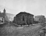 Bank of New Zealand, on the corner of Lambton Quay and Featherston Street, Wellington