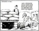 Tremain, Garrick, 1941- :Somewhere in Iran... Otago Daily Times [ca 16 October 2004]