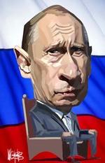Vladimir Putin. 22 August, 2008