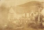 Rev Benjamin Yates Ashwell's mission school at Taupiri