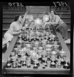 Variety of competition cups