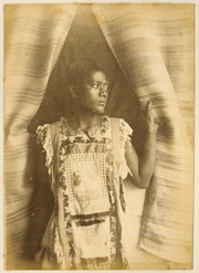 Portrait of a Samoan woman