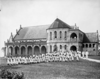 Piula Methodist Mission College at Lufilufi, 12 miles from Apia