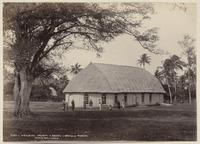Wesleyan church, Neiafu, Vava'u, Tonga - Photograph taken by Burton Brothers