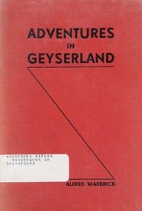 Cover of Adventures in Geyserland