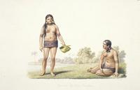 LeJeune, Jules Louis :Femmes de l'ile Oualan. A. Chazal [1826]