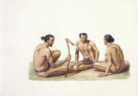 LeJeune, Jules Louis :[Habitants de l'ile Oualan (Archipel des iles Carolines). 1826] A. Chazal