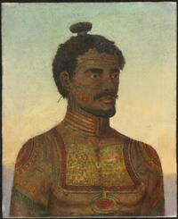 Man of the island of Nukahiwa, Marquesas group [H. Ainsworth]