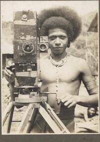 Bioto [Man with camera] Frank Hurley